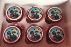 Miraculous-Ladybug-Cupcakes